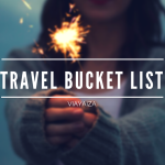 'Travel Bucket List' ━ Soñemos juntos