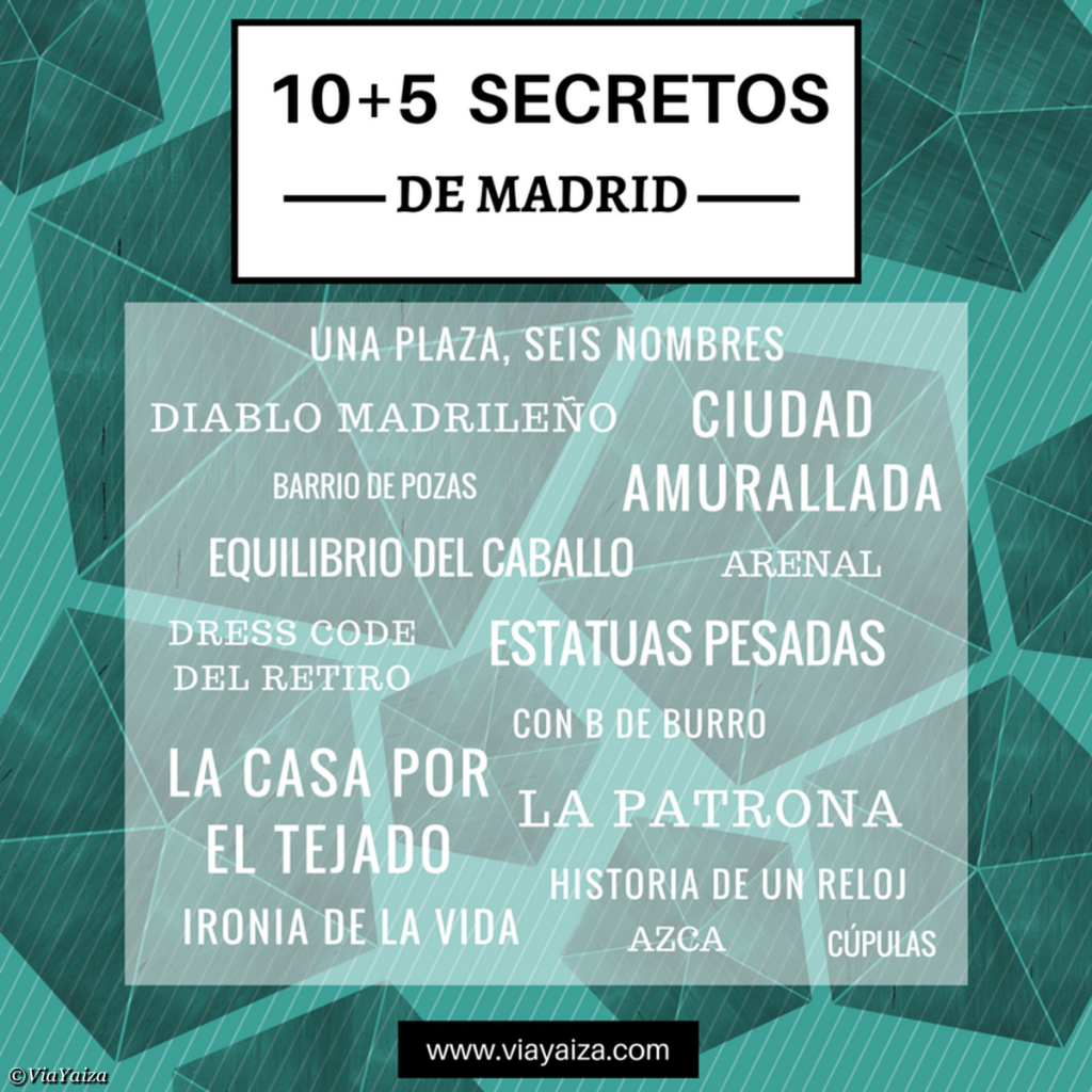 SECRETOS MADRID
